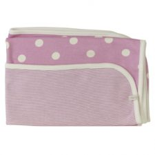 organics-reversible-spotty-stripe-blanket-pink-jpg