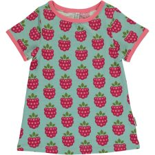 maxomorra-a-line-short-sleeve-raspberry-1-jpg